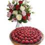 crostata-ai-lamponi-con-bouquet-di-roselline