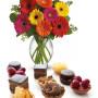 pasticcini-con-bouquet-di-gerbere-colorate